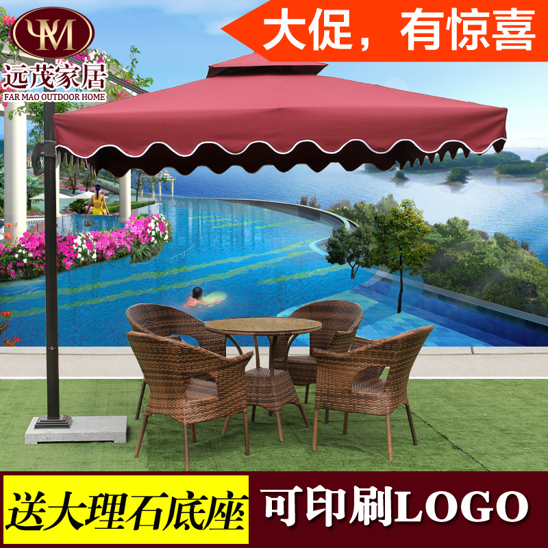 Outdoor security  umbrellas booth patio large advertising beach unilateral<br><br>Aliexpress