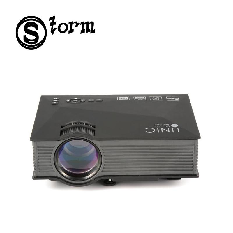 Unic uc46 mini led portable pocket projector full hd 1080p for Miroir hd wireless mini projector