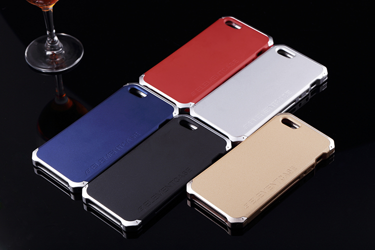 2015 Ultra thin Element Fashion Metal Aluminum Cell Phone Cases For Apple iPhone 5 5s 6 6s 6plus 6s plus Mobile Back Cover