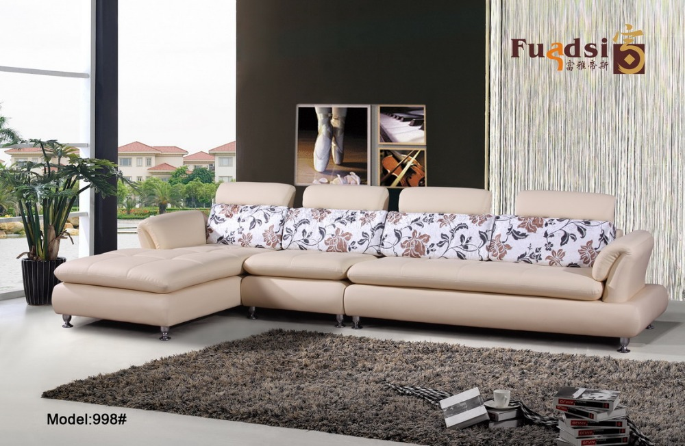 2015 latest design foshan furniture living room set 998 in