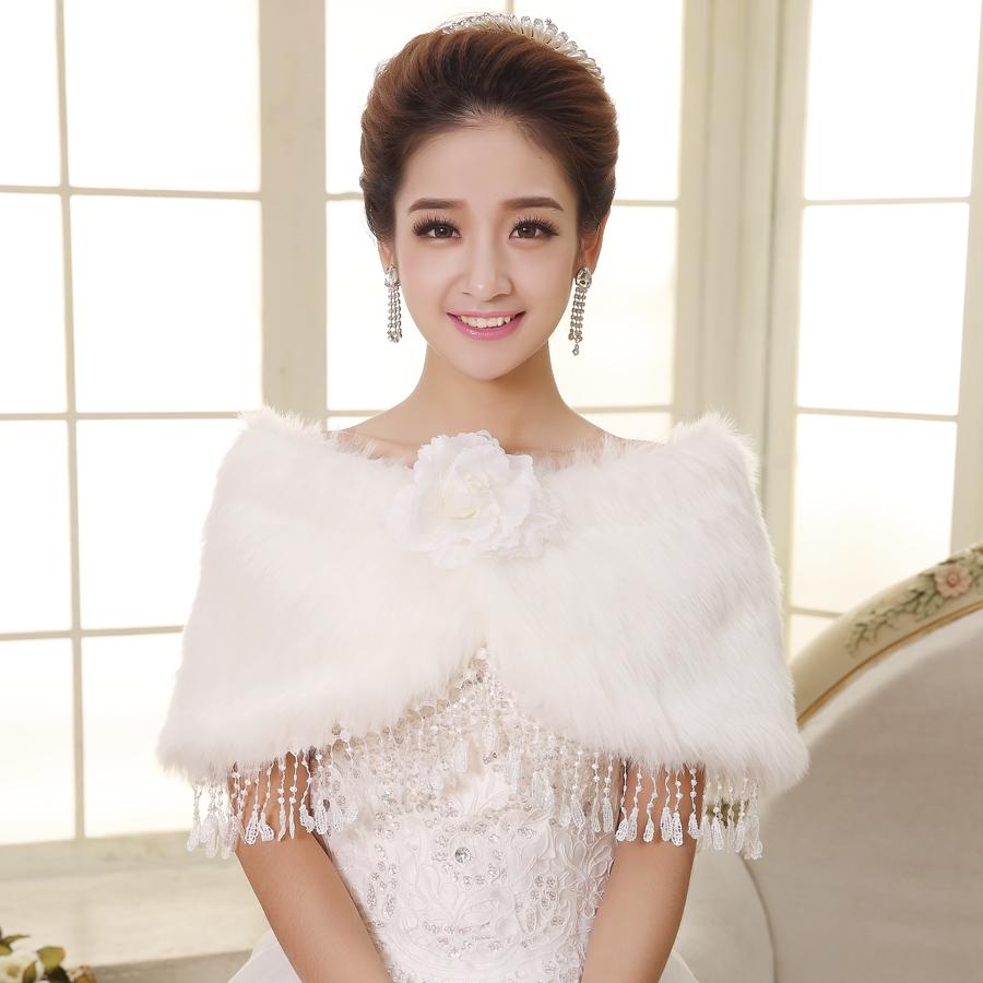 Vestido de novia de lana