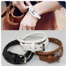 2015 Fashion Bangle Leather Bracelets Wrap Women Bracelets Wholesale
