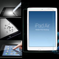 3 Size Choose Explosion Proof Tempered Glass Film Screen Protector For iPad2/3/4 Air 5 Mini1/2