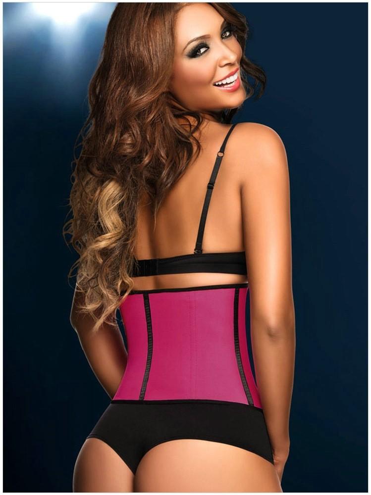 shaper acier osseuse taille formateur femmes serre caoutchouc corset serre taille seins nus. Black Bedroom Furniture Sets. Home Design Ideas