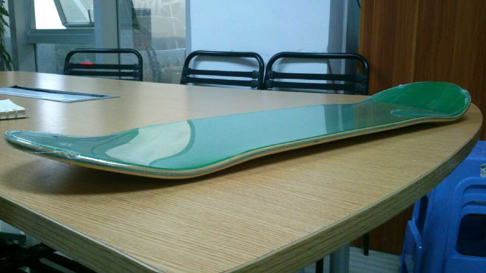 New Arrival Blank Skateboard Deck 8inch High Concave