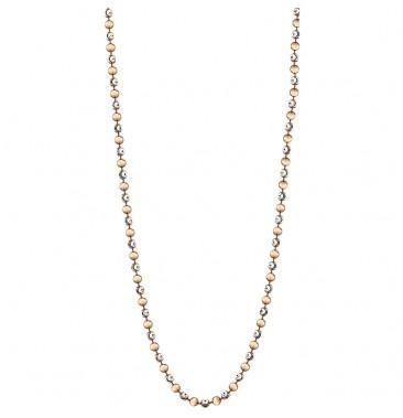 Mi Moneda Gold Vermeil Two Tone Alegre 80cm Necklace Ball Chain 10pcs/lot(China (Mainland))
