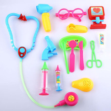 Creative Doctor Medical Play Set Pretend Carry Case Kit Role Play Toys(China (Mainland))