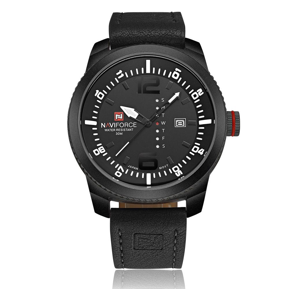 2016 new relojes naviforce wrist watches leather wrist