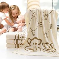 HotFree Shipping Baby Bath Towel Newborn Children's Cartoon Bathing Wrap Towels Washcloth Super Soft Baby Products High Quality