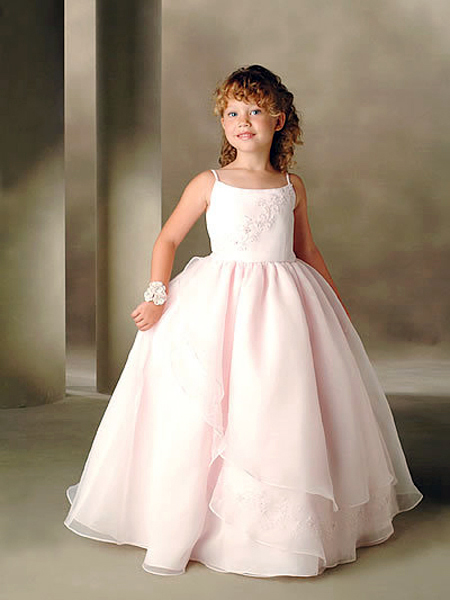 INEXPENSIVE FLOWER GIRL DRESSES - Sanmaz Kones