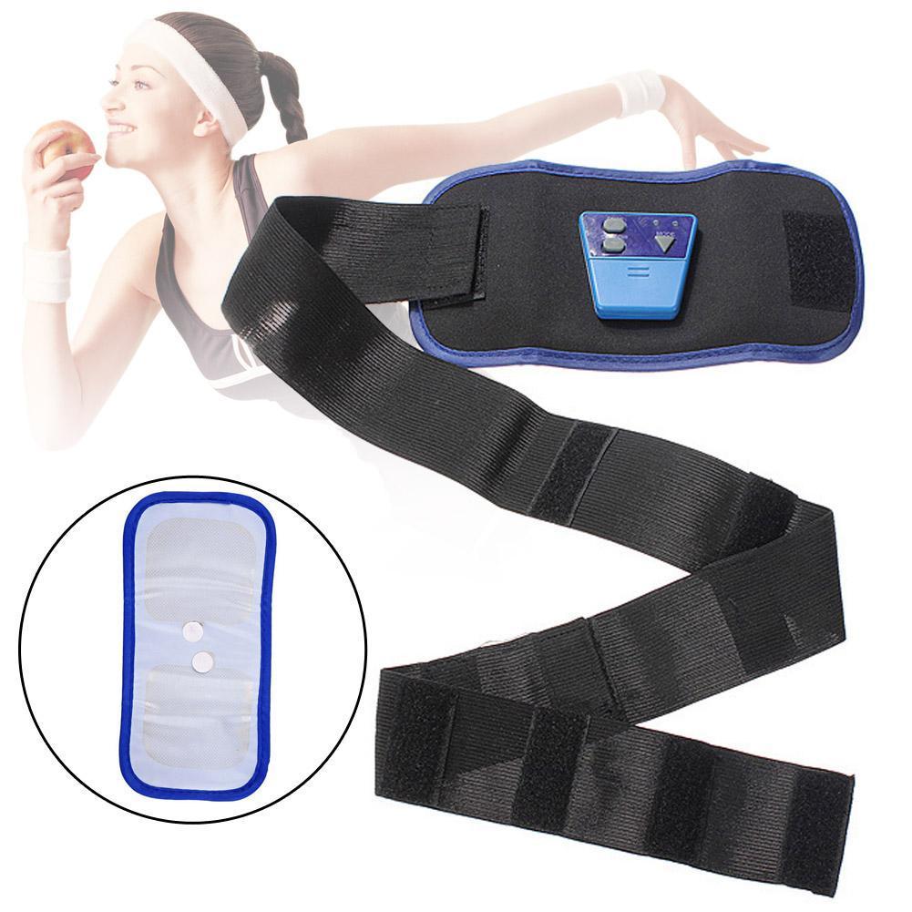 AB Gymnic Front Muscle Arm leg Waist Abdominal Massage Slim Fit Toning Belt A190(China (Mainland))