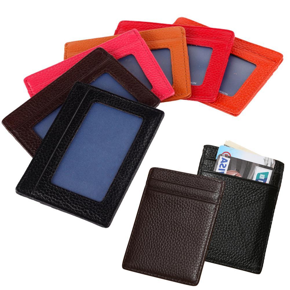 Гаджет  8 Colors Vintage Womens Men Pouch ID Credit Card Wallet Cash Holder Organizer Case Box Pocket Passport Cover None Камера и Сумки