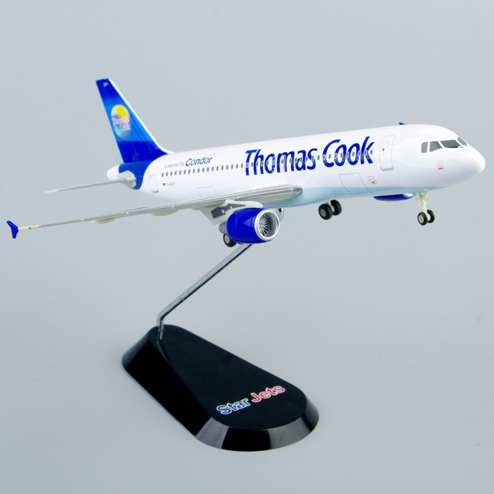 1:400 Scale Diecast Airplane Model StarJets 1/400 Air plane Thomas Cook Condor Toy Vehicles Brinquedo Menino Collection White<br><br>Aliexpress