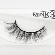 Visofree 3D Mink Eyelash Lilly Real Mink Handmade Crossing Lashes Individual Strip Thick Lash Fake Eyelashes A04(China (Mainland))
