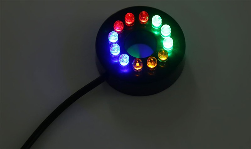 Submersible Pump with12 Color LED Light10