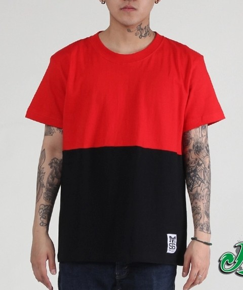Black Urban Clothing Designers black red New T shirt