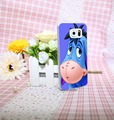 Big Ass Long Ear eeyore Cute Donkey Style Hard Transparent Phone Cases Cover for Galaxy S6