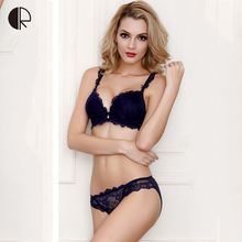 Buy New Women Sexy Lingerie Lace Bra Set Luxurious Adjust Push Underwear 5 Color Plus Size Brand Designer Bra Free WI380 for $11.72 in AliExpress store