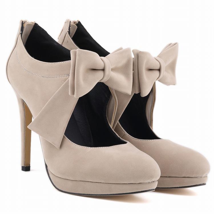 Cute Girls Shoes Platform High Heels Ladies Women Pumps Wedding ...