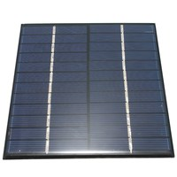 High quality 12V 2W 160mA Polycrystalline silicon Mini Solar Panel module Cell  For Charger DC Battery DIY 136x110mm