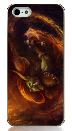 dota 2 game printed white plastic Hard Back Case Cover for Iphone 4 4s 4g Free shipping