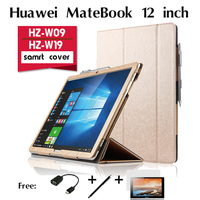 For Huawei MateBook holster case 12 inches tablet in one laptop support shell collar for HZ-W09 HZ-W19 Protective Case Cover