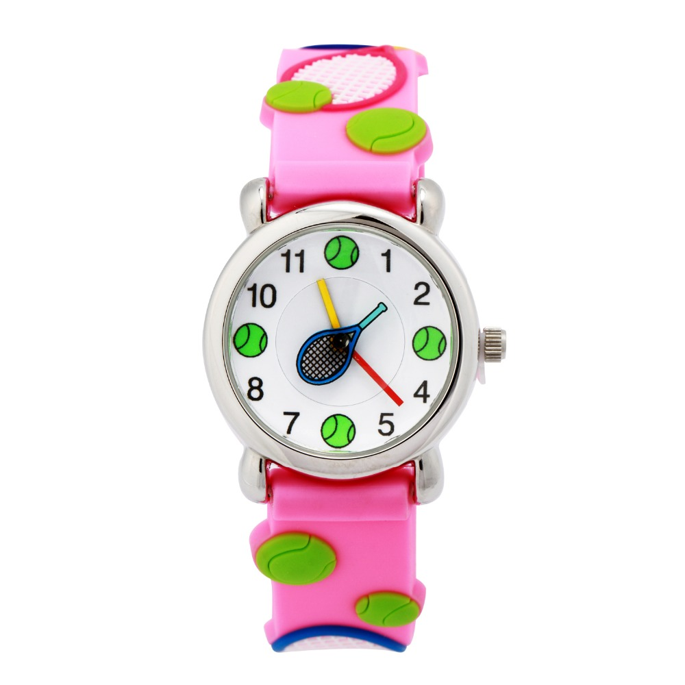 2016 fashion rabbit quartz watch children watch cute cartoon silicone watch kids cool 3d rubber watch kids clok reloj hour gift(China (Mainland))