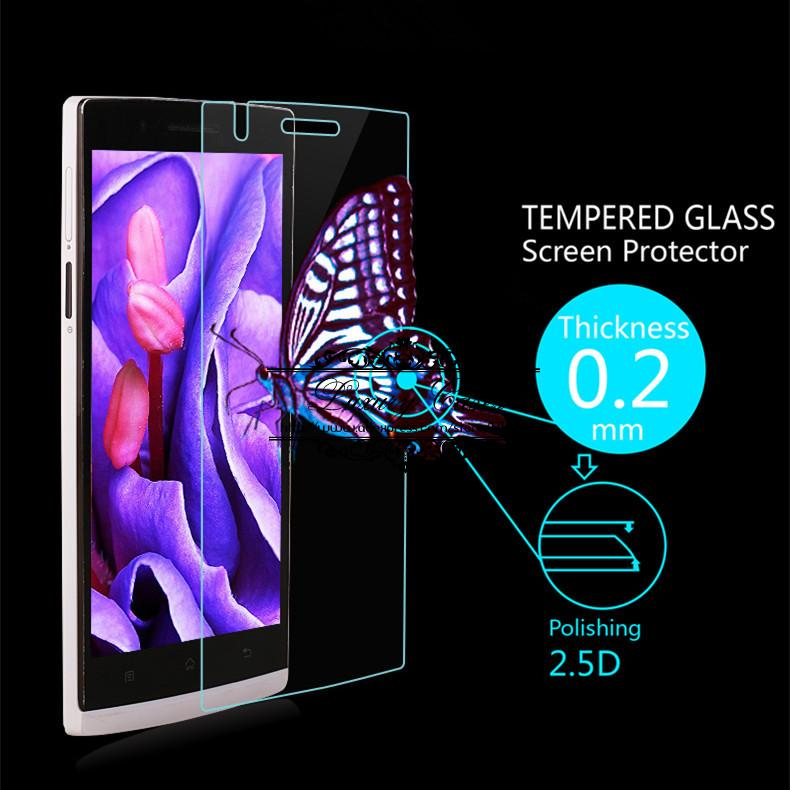 0.2mm Premium Explosion-Proof HD Clear Tempered Glass Screen Protector Film for BBK OPPO Find 5 X909 With Retail Package(China (Mainland))