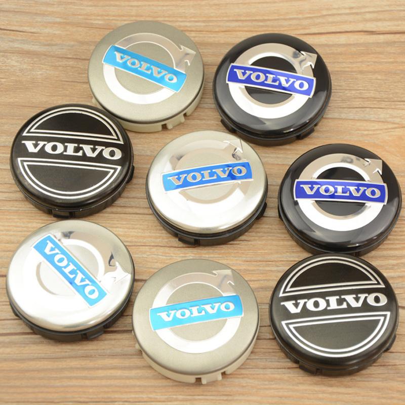 4Pcs 64mm VOLVO wheel center hub cap cover sets Volvo Badge emblem S40 S60 S80L XC60 XC90 New Free Shipping(China (Mainland))