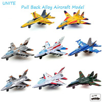 Free Shipping 12cm Pull Back Planes Aircraft model toy Plastic Alloy Diecasts & Toy Vehicles Toys Kids Gifts Hot Sale 1:64 Plane