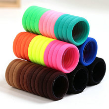 24 pcs/set TS Hair accessory basic none seam tousheng ultra high elastic rubber band hair rope headband hair ring for women girl