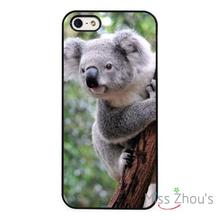 Koala Bear Wild Nature Cute back skins mobile cellphone cases for iphone 4/4s 5/5s 5c SE 6/6s plus ipod touch 4/5/6