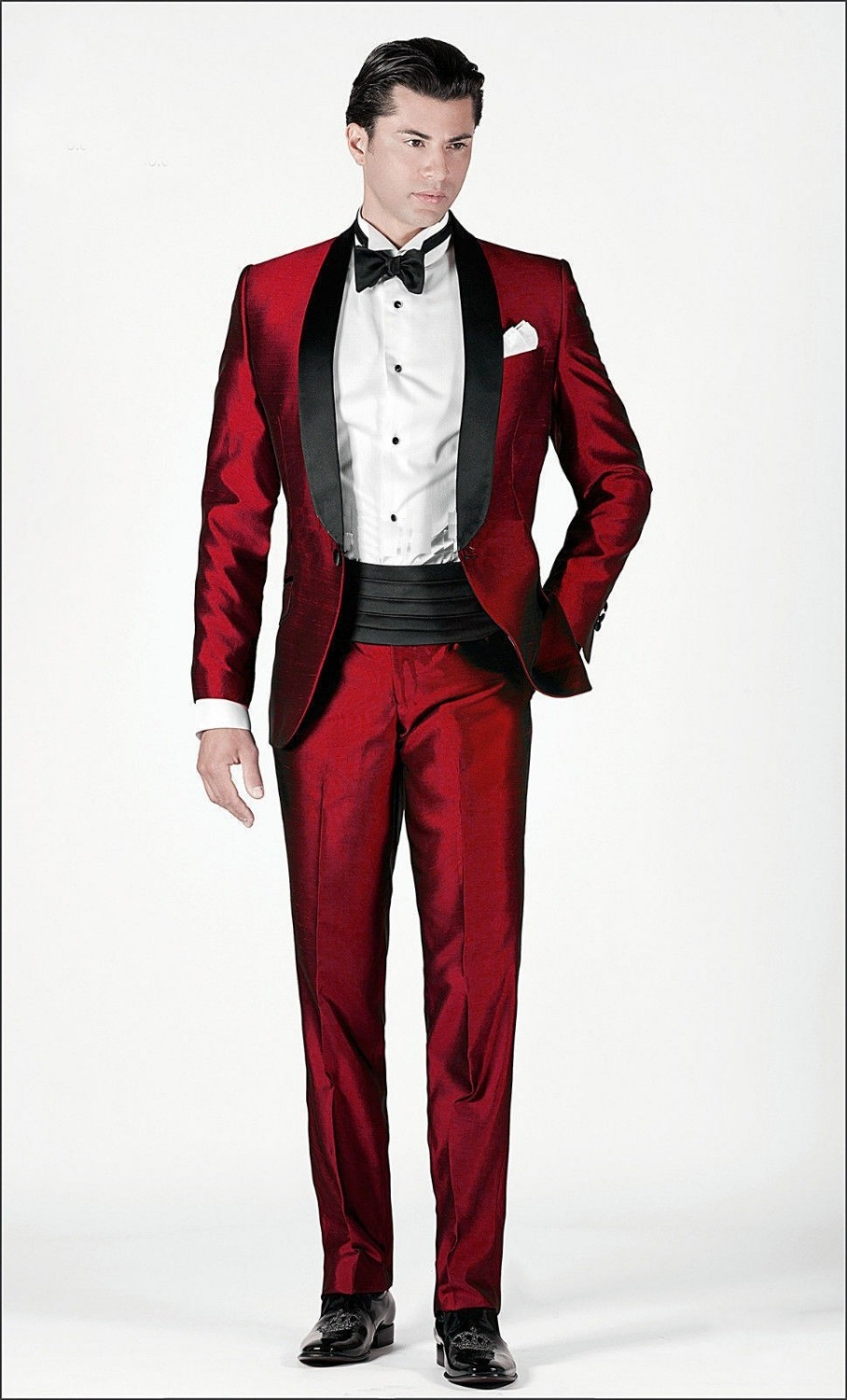 Popular Mens Silk Red Suit-Buy Cheap Mens Silk Red Suit lots from