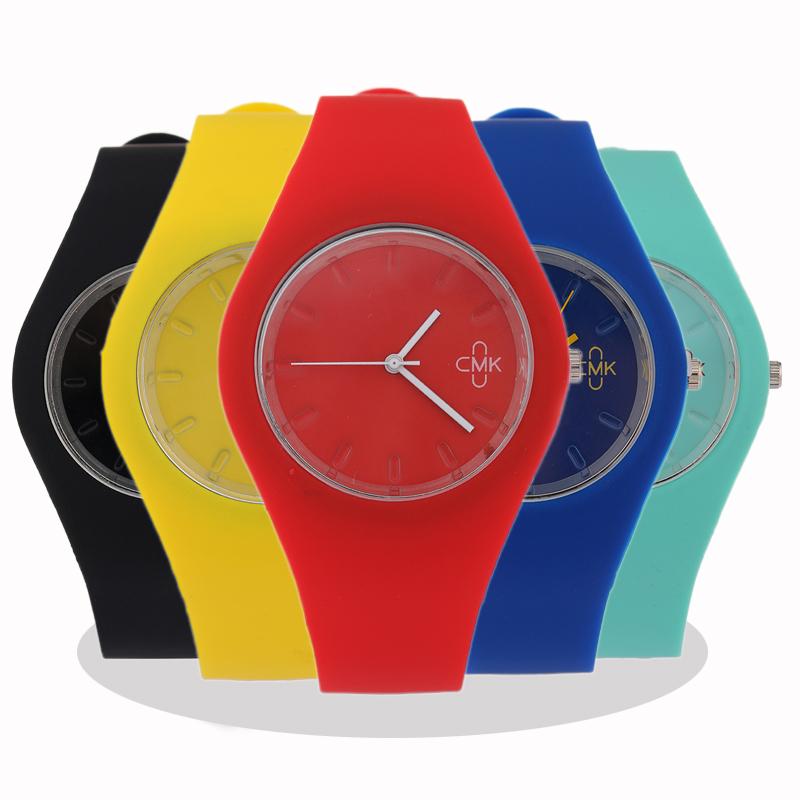 Students Watch Women CMK brand luxury Fashion Casual quartz watch Jelly silicone sport Lady wristwatch relojes mujer Girl clock(China (Mainland))
