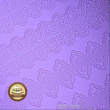 New Hot Sale Fondant Strip Cake Decoration Mold Silicone Cake Lace Mat Kitchen Bakeware Cooking Cake Tools Free Shipping(China (Mainland))