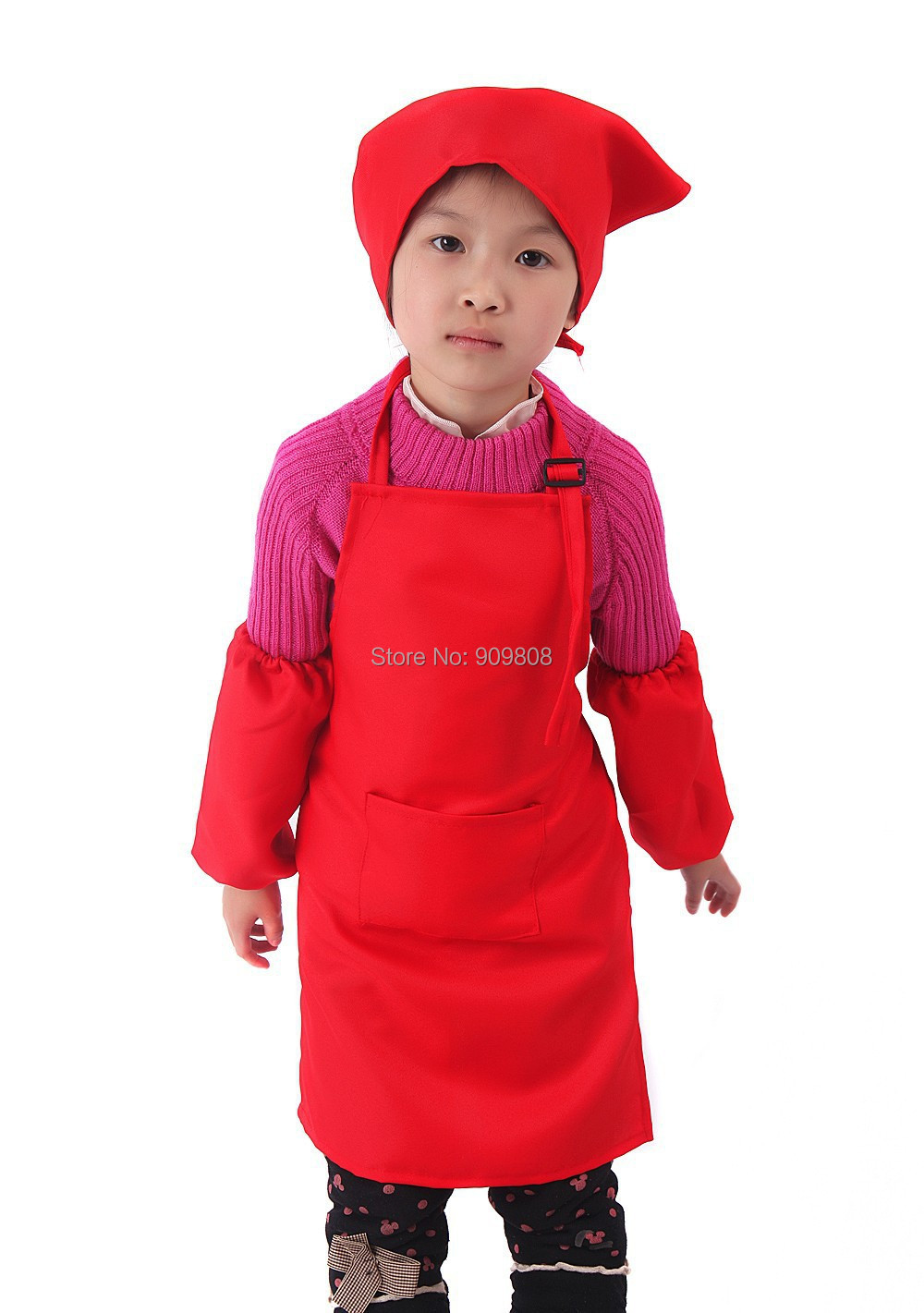 free shipping 120pcs/lot custom children apron(China (Mainland))