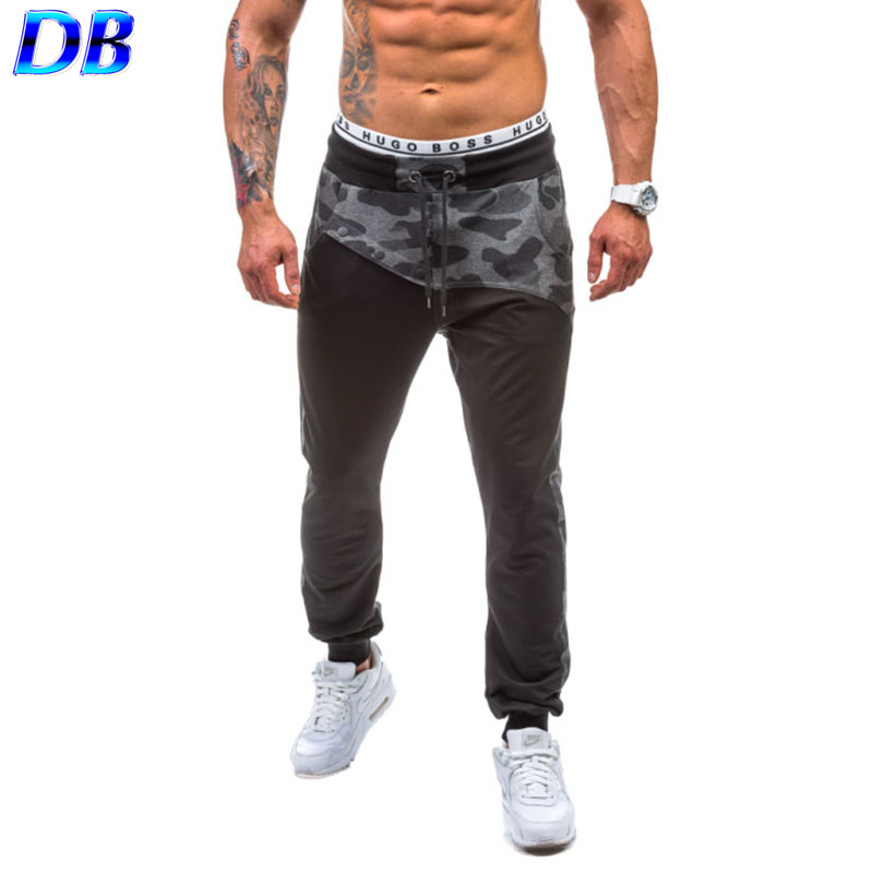 sports pants men new 2016 gym clothing outdoor military camouflage joggers trousers(China (Mainland))