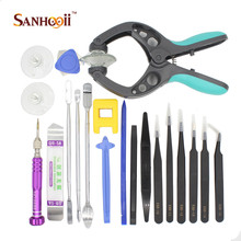 Multi Function Hand Tools Set For Cell Phone Repair With Anti Static Tweezers(China (Mainland))