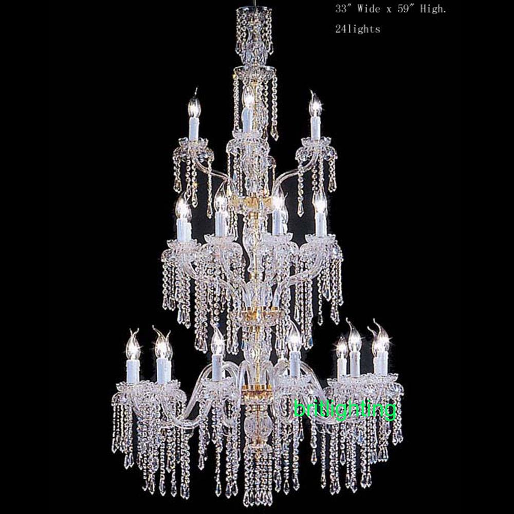 Bohemian lampadario di cristallo acquista a poco prezzo for Hope lampadario