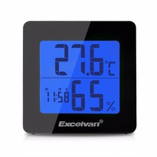 Excelvan 4.3'' Backlight Digital LCD Alarm Clock Snooze Function Desk Clocks Can Displays Temperature Thermometer Hygrometer(China (Mainland))