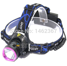 New 2000Lm CREE XM-L T6 LED Headlamp Headlight Rechargeable Light Lamp (China (Mainland))