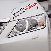 TRD Toyota Racing Development Sports Classical Car Sticker Auto Decal Eyelids Sticker for Toyota Camry Reiz