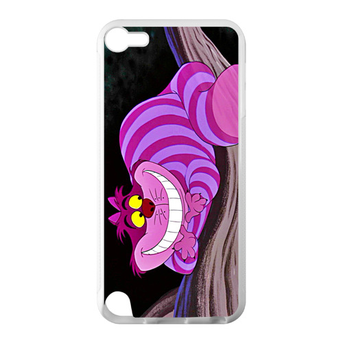 Waterproof Cell Phone Case Alice in Wonderland Cheshire 2 Case for iPod Touch 5(China (Mainland))