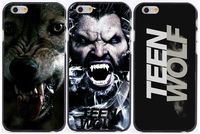 hot teen wolf black printed plastic Hard phone cases for iphone 6 case 6s 6 plus 5 5s 5c 4s +freeshipping