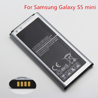 2 pcs 2100mah EB-BG800CBE Replacement battery For Samsung Galaxy S5 Mini SM-G800F free shipping