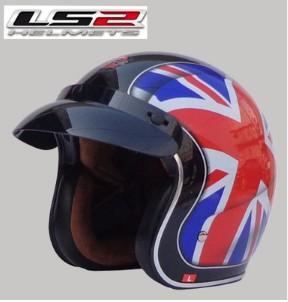 Free shipping LS2 OF583 Prince retro helmet helmet motorcycle helmet/M word