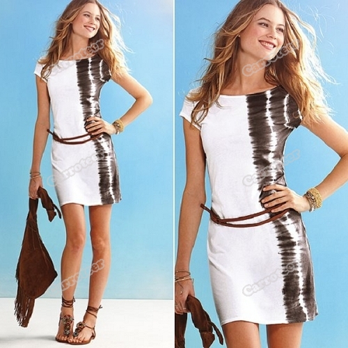 carroteer Best choice Cool Summer Fashion Dress LC2544 Latest Style(China (Mainland))