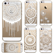 Phone Cases for Apple iPhone 5 5S Case Transparent Crystal Case Design TPU Silicon Phone Covers Shell Capa Back Case Top Quality