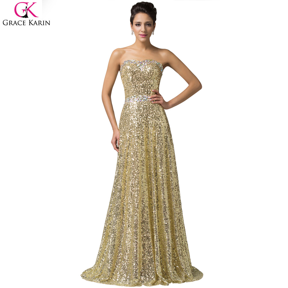 Sparkle evening dress