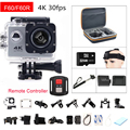 gopro hero 4 style F60 F60R Wifi Action Camera 4K Remote Controller Extreme go pro Mini